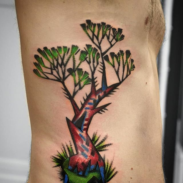A tree. Thank you Antti! I have free time to tattoo this month, sonjakappikoo@gmail.com